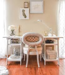 White And Gold Home Decor Vov X Joss U0026 Main Office Reveal Visions Of Vogue