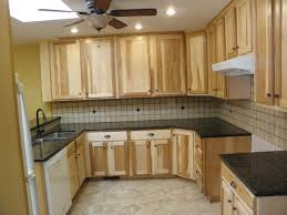 How To Make Kitchen Cabinets Cheap Hickory Kitchen Cabinets Furniture How To Clean Yellowed Modern