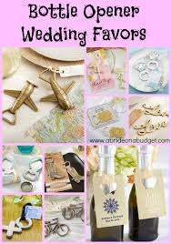 wedding favors bottle opener bottle opener wedding favors a on a budget