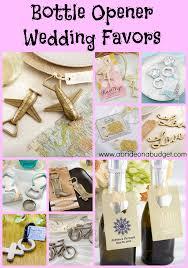 bottle opener wedding favors bottle opener wedding favors a on a budget