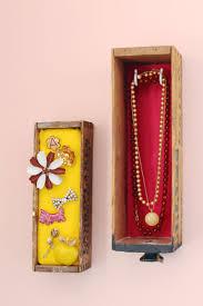 wall mounted jewelry box display u2013 a beautiful mess