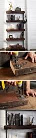 best 25 diy industrial bookshelf ideas on pinterest pipe