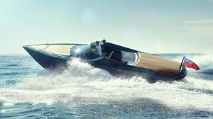 lexus v8 in boat wave machine a ride in aston u0027s 1 6m boat top gear