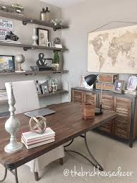Diy Pallet Computer Desk Picture Charming Retro Home Office by World Market Furniture Home Office Decor Desk Side Table Diy