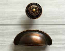 Antique Cabinet Door Pulls Antique Brass Pulls Etsy