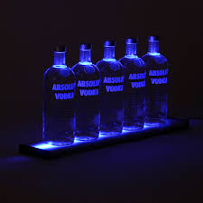 Liquor Display Shelves by Led Bar Shelf 24