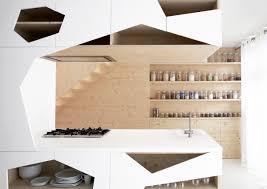 design perfect geometric kitchen architecture design light wood