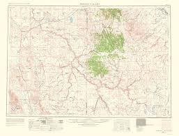 map of oregon i 5 topographical map valley idaho oregon 1963