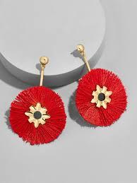 rositas earrings lyst baublebar rosita drop earrings in