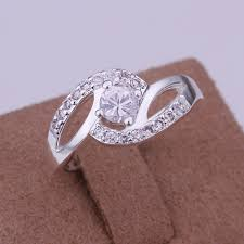 bluelans wedding band ring stainless steel matte ring acryl rings clear promotion shop for promotional acryl rings clear