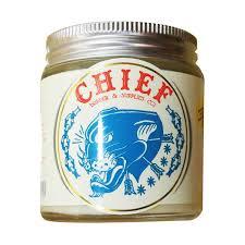 Sisir Chief chief pomade panthera white hybrid pomade glass jar 4 2 oz free
