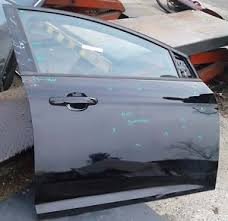 2015 2016 black ford focus passenger right side front door paint