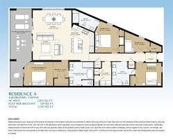 Walton House Floor Plan Floorplans For Blu Condominiums Okaloosa Island In Fort Walton