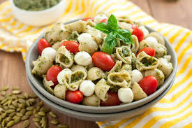 gluten free pasta salad with pumpkin seed pesto food fanatic