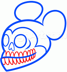 draw tattoo mickey mouse step step disney characters