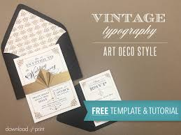 wedding invitations free free template vintage wedding invitation with deco band