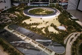 feu vert siege social apple dévoile une maquette de siège social futuriste