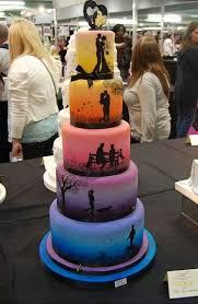 cool wedding cakes cool wedding cake idea imgur