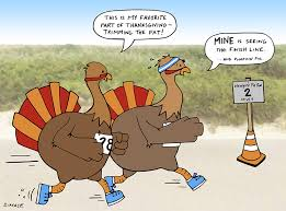 left unattended comics running turkey style
