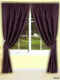 Aubergine Curtains Oban Lined Aubergine Curtains Harry Corry Limited