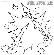 firework coloring pages coloring pages to download and print