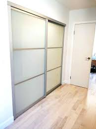 Lowes Sliding Closet Doors Closet Doors Sliding Tempered Glass Options Interior Sliding