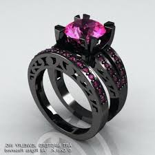 black and pink engagement rings australian black opal engagement rings archives rings ideas best