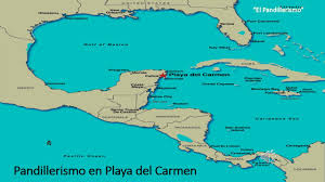 Playa Del Carmen Mexico Map by Pandillerismo En Playa Del Carmen Youtube