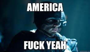 Fuck Ya Meme - america fuck yeah captain america quickmeme
