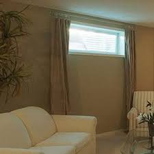 Basement Window Curtains Basement Window Curtains Search Diy Decor Pinterest