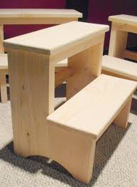 handcrafted shaker inspired pine step stool unfinished 20 00