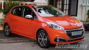 car peugeot 208 2017 peugeot 208 facelift launched in malaysia 1 2l turbo 1 190