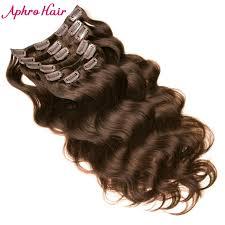 dark hair after 70 aphro hair body wave 2 dark brown non remy clips in human hair