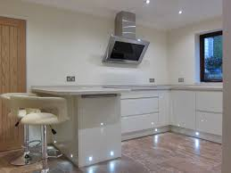 kitchen floor lights wood floors