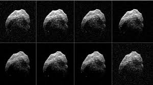 news radar images provide new details on halloween asteroid