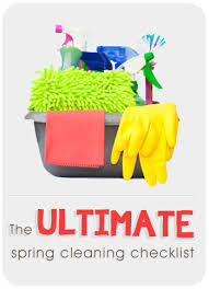 the ultimate spring cleaning checklist plus printable