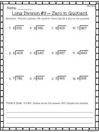 grade multiplication u0026 division worksheet pack multi digit