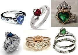claddagh wedding ring claddagh rings for bridal and sapphires
