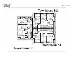 One Level Home Floor Plans Nigerian Semi Detached House Plans One Level Townhome Floor Plan