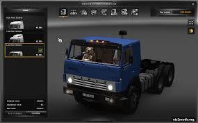 volvo trucks configurator kamaz 5410 ets 2 trucks ets2 mods