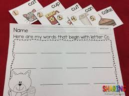 abcs of letter order fun sharing kindergarten