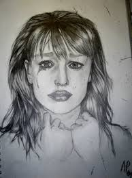 pictures crying face sketch drawing art gallery