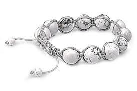 shamballa bracelet jewelry images White turquoise bead shamballa bracelet jpg