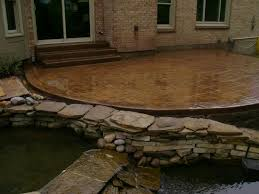 How To Pour Concrete Patio Walkers Concrete Llc Stamped Concrete Patio Start To Finish Your