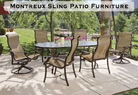 oval patio table sling patio furniture watson s fireplace and patio