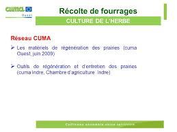 chambre d agriculture indre autonomie alimentaire bibliographie réseau cuma et hors réseau ppt