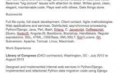 sample software engineer resume resumedoc