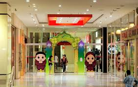 malls are competing with hari raya decorations and sales flickr