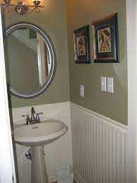 Small Powder Room Ideas Single Bowl Sink White Drawers Vanity Table Small Powder Room