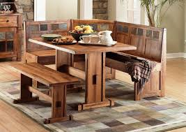 Lovely Rustic Kitchen Table With Bench Rustic Kitchen Tables Cedar - Rustic kitchen tables